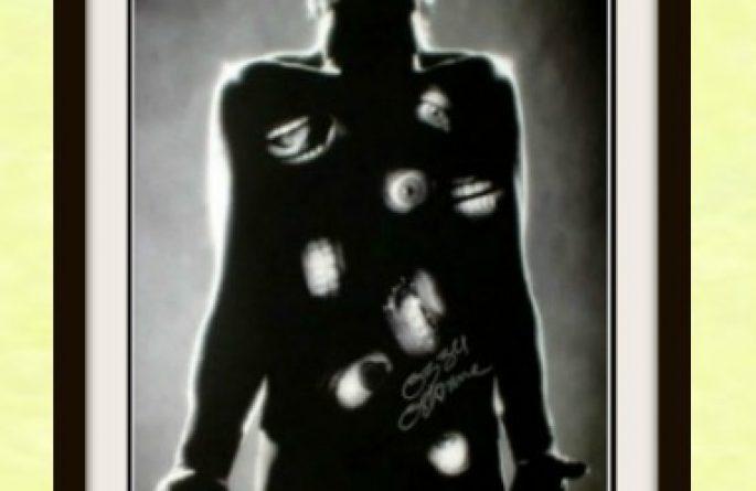 #1 Ozzy Osbourne Signed Poster