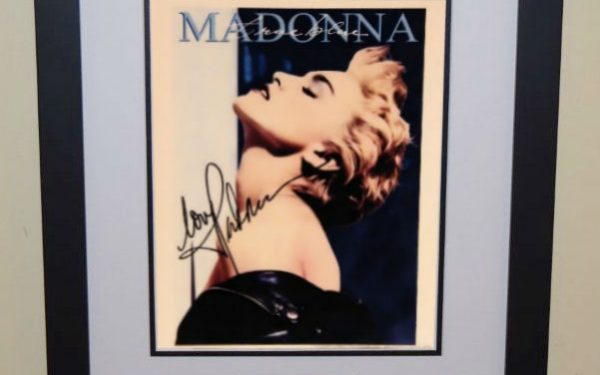 #5 Madonna Signed 8×10 Photograph