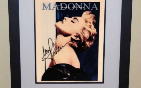 #5 Madonna Signed 8×10 Photograph