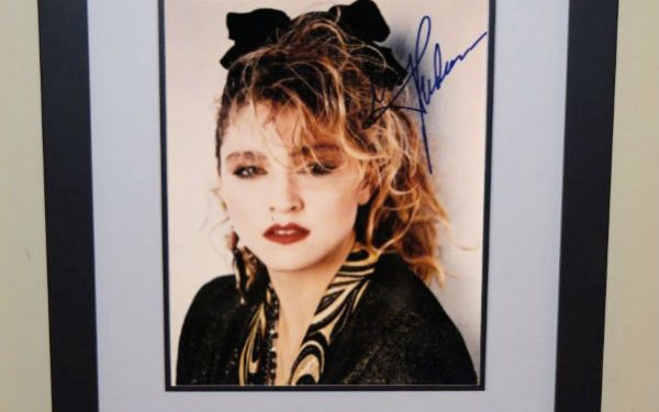 #7 Madonna Signed 8×10 Photograph