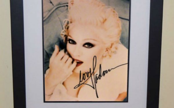 #8 Madonna Signed 8×10 Photograph