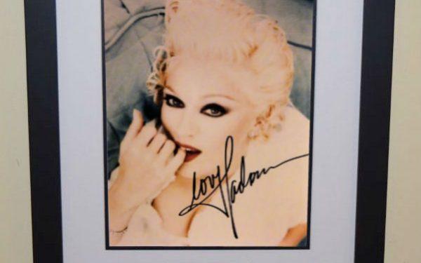 #8 Madonna Signed 8×10 Photograph