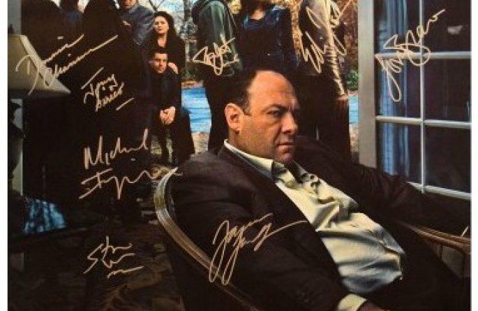 Sopranos Signed Poster