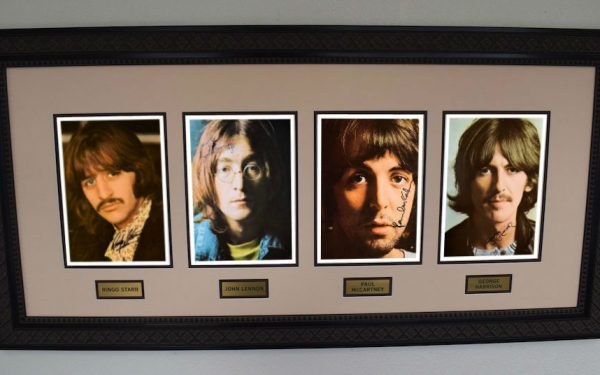 #4-Beatles Signed 8×10 Photographs