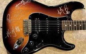 Rolling Stones Sunburst Fender Stratocaster