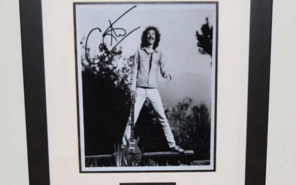 #3-Santana Signed 8×10 Photo