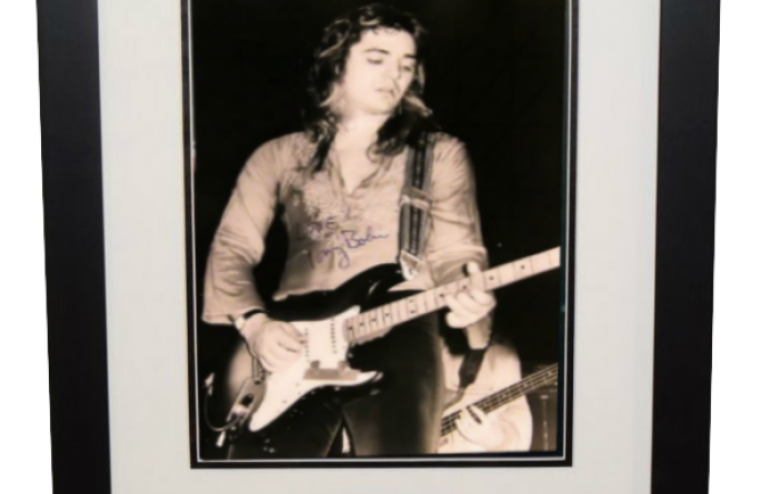 Tommy Bolin Signed 11×14 Photograph
