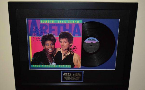 Aretha Franklin & Keith Richards – Jumpin' Jack Flash