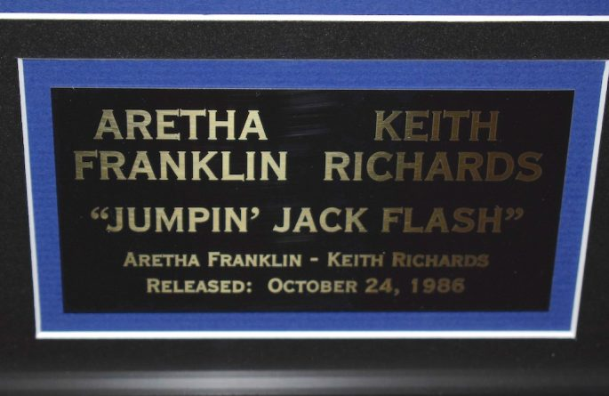 Aretha Franklin & Keith Richards – Jumpin' Jack Flash