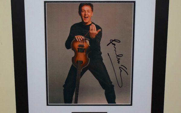 #11-Paul McCartney Signed 8×10 Photograph