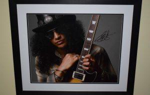 #1-Slash Signed 16×20 Photograph