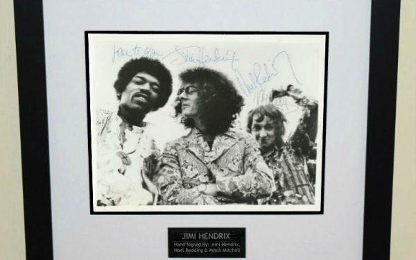 #3 Jimi Hendrix Signed 8×10 Photograph