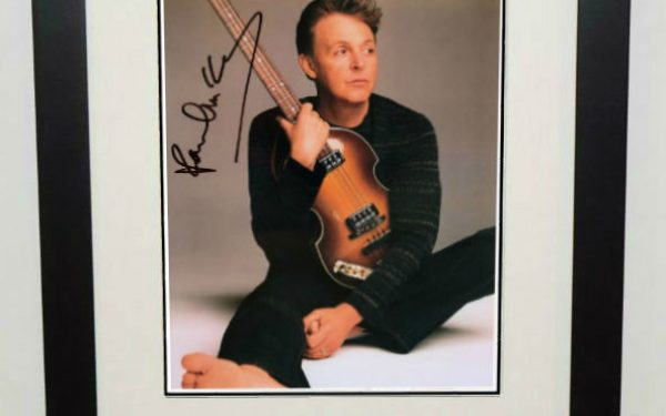 #12-Paul McCartney Signed 8×10 Photograph