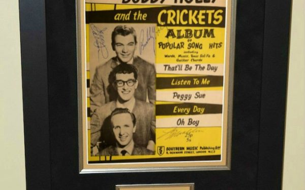 Buddy Holly and the Crickets – Popular Songs Book