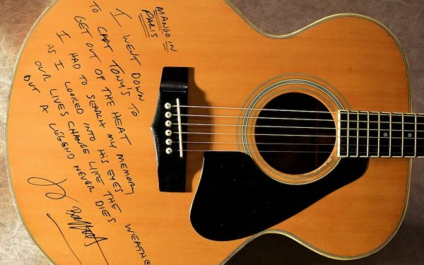 Jimmy Buffett Yamaha Acoustic Guitar