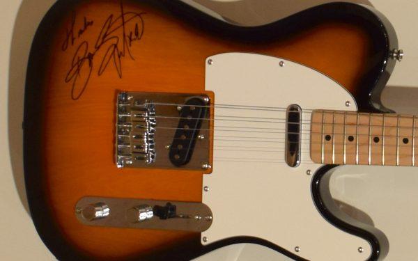 Bruce Springsteen Fender Sunburst Squier Telecaster