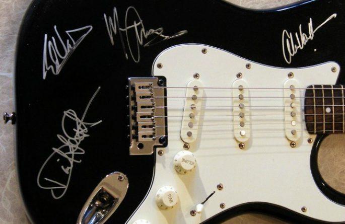 Van Halen Fender Squier Stratocaster
