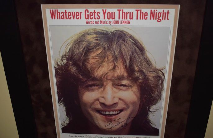 John Lennon – Whatever Gets You Through The Night