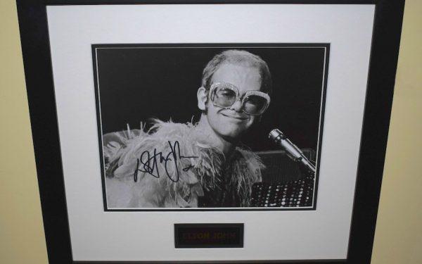 #4-Elton John Signed 8×10
