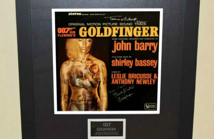 007 – Goldfinger Original Soundtrack