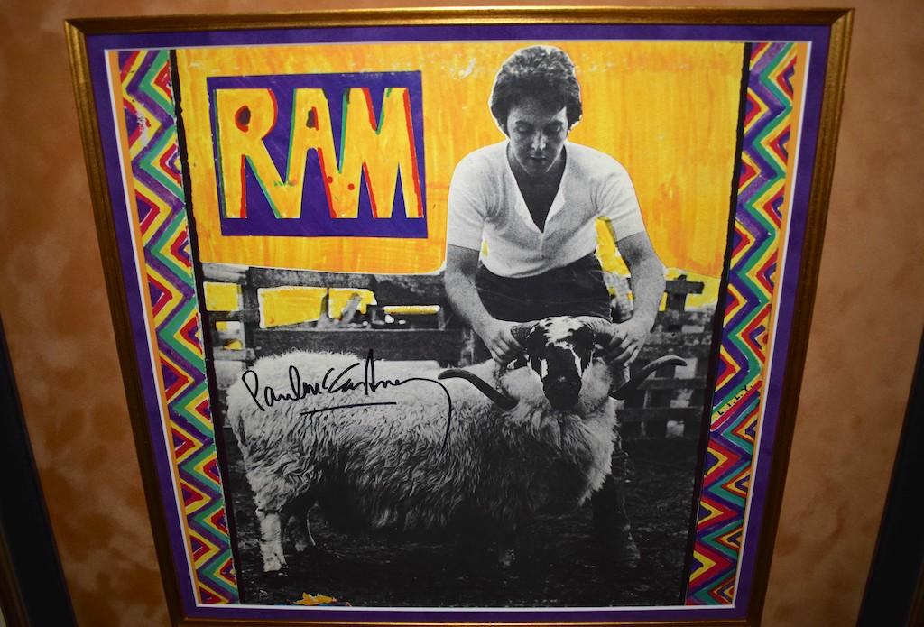 paul mccartney ram signed albums rock star galleryrock star gallery. Black Bedroom Furniture Sets. Home Design Ideas