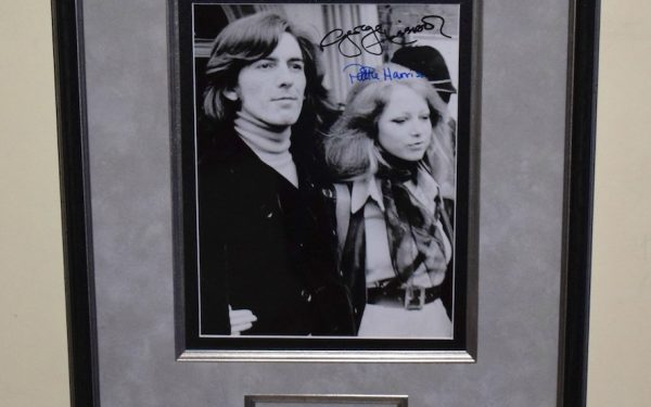 George Harrison & Pattie Boyd Harrison 8×10 Photograph