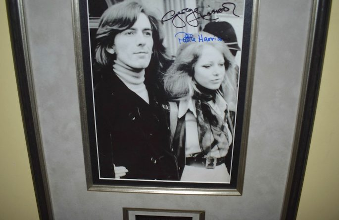 George Harrison & Pattie Boyd Harrison 8×10 Photograph