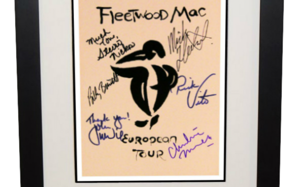 Fleetwood Mac – 1987  European Tour Book