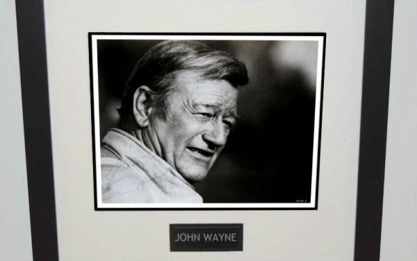 #1-John Wayne Signed 8×10 Photograph