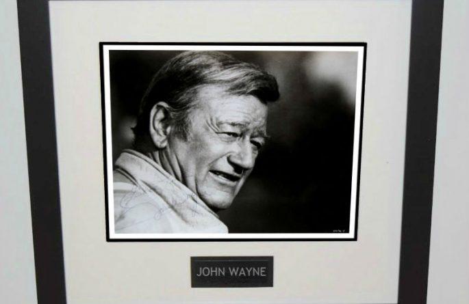 #1-John Wayne Signed 8×10 Photograph