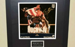 Rocky IV Laser Videodisk