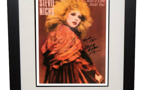Stevie Nicks – Rock A Little Tour book