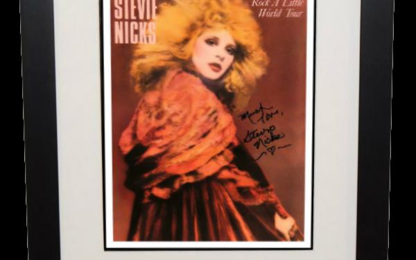 Stevie Nicks – Rock A Little Tour book