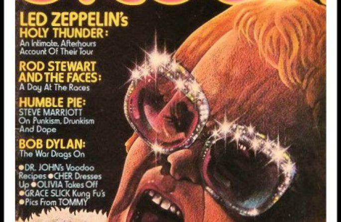 Elton John – 1975 Cream Magazine
