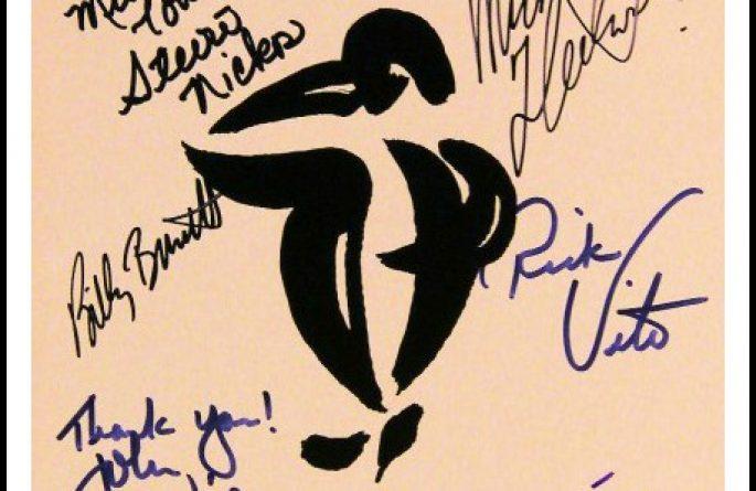 Fleetwood Mac – 1987  European Tour Book