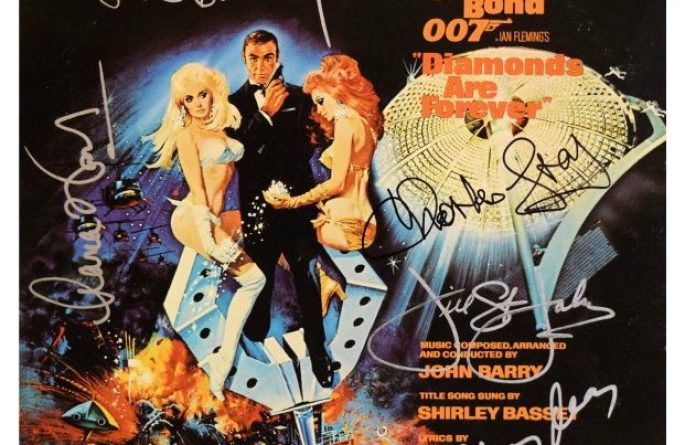 007 – Diamonds Are Forever Original Soundtrack