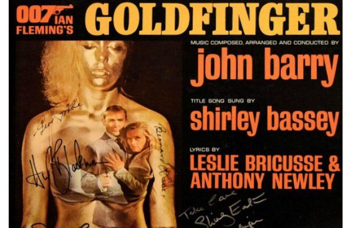 007 – Goldfinger Original Soundtrack