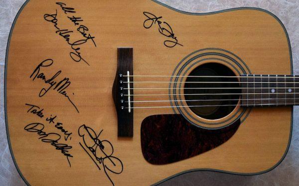 Eagles Fender Acoustic Guitar