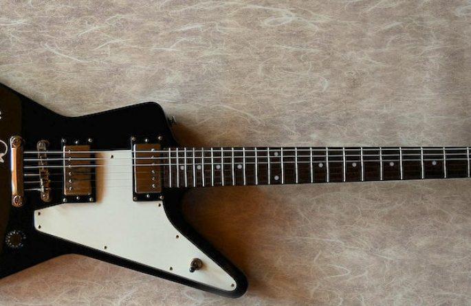 KISS Epiphone Slayer Guitar