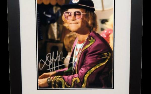 #5-Elton John 8×10 Photograph