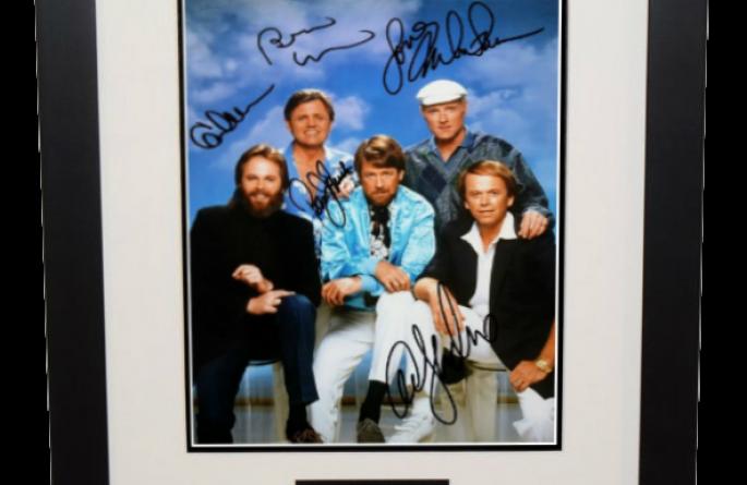 #2 Beach Boys Signed 8×10 Photograph