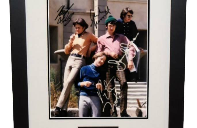 #2 Monkees Signed 8×10 Photograph