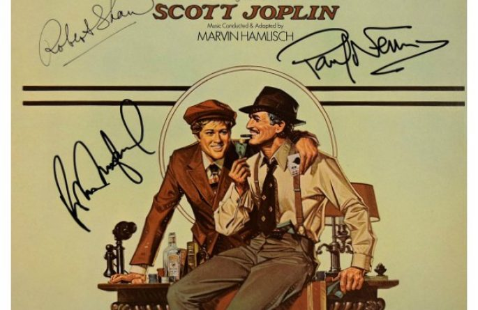 The Sting Signed Original Soundtrack