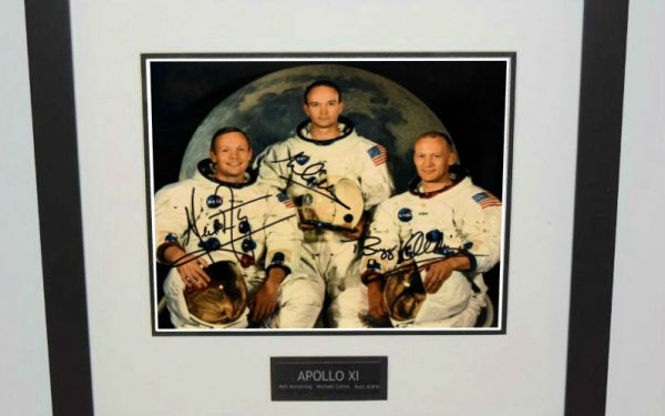 Apollo XI 8×10 Signed Photograph