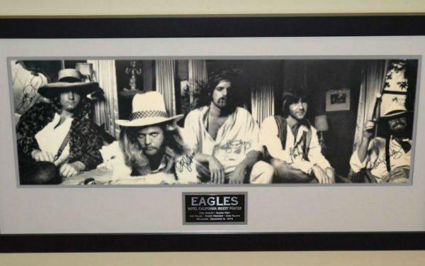 Eagles Signed Poster