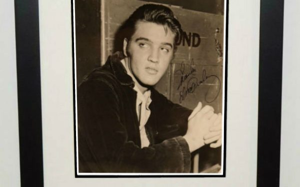 #9-Elvis Presley Signed 8×10 Photograph