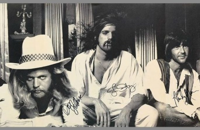 Eagles Signed Poster