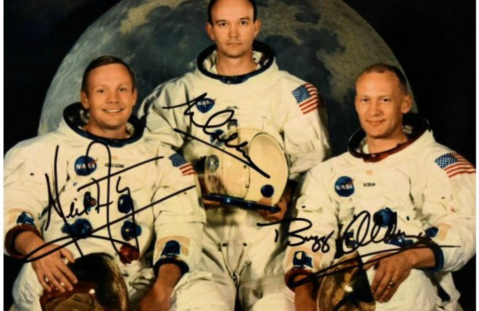 Apollo XI 8×10 Signed Photograph
