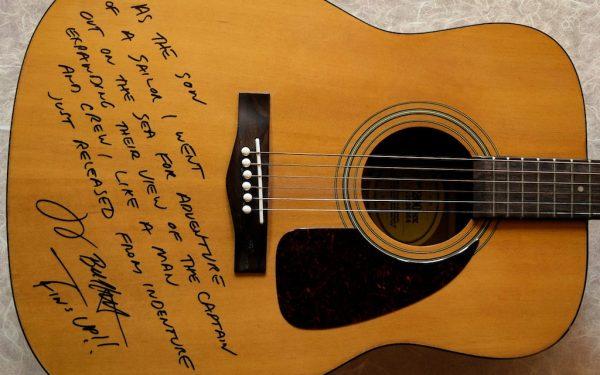 Jimmy Buffett Fender Acoustic Guitar