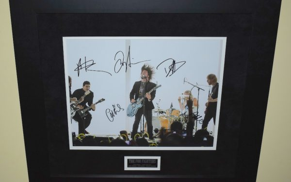 #2-Foo Fighters Signed 11×14 Photograph